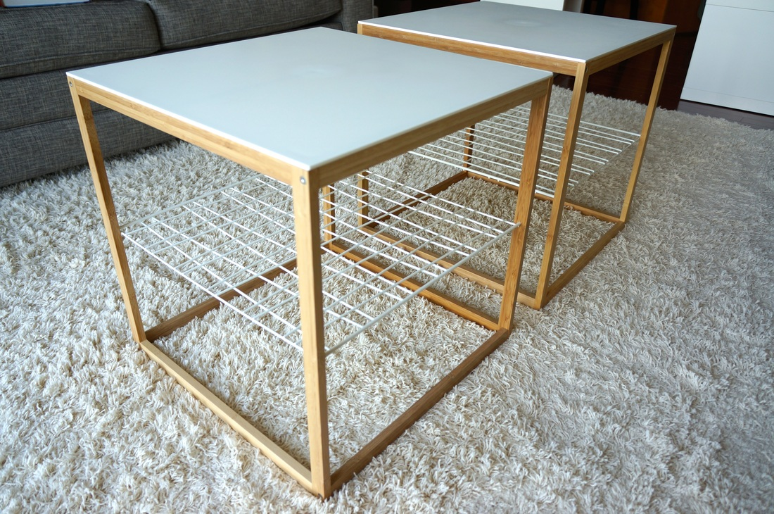 Apartment sale home two ps2012 ikea tables made from bamboo great for end tables or side by side as a coffee table geotapseo Gallery
